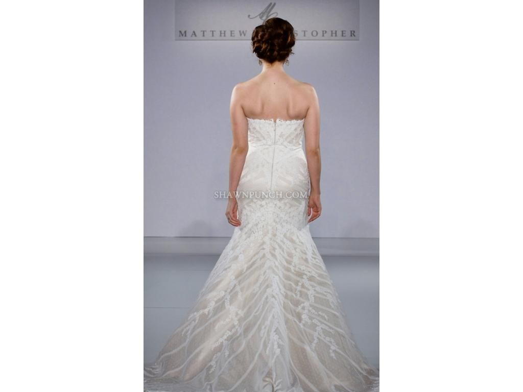 Matthew christopher sophia 2 250 size 14 used wedding for Matthew christopher wedding dress prices