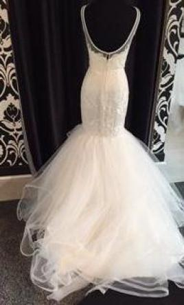 34200a518c298 Hayley Paige Brooke, $1,925 Size: 12 | Sample Wedding Dresses