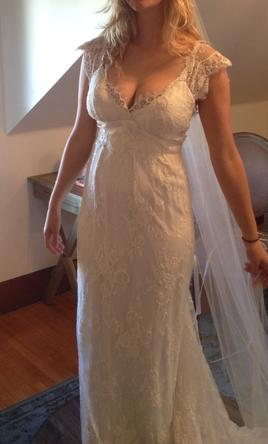 Anna campbell eloise 1 800 size 6 new un altered for Anna campbell wedding dress for sale