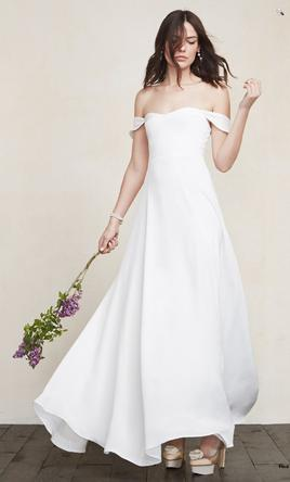 reformation wedding dress other the reformation constance dress 300 size 0 7054