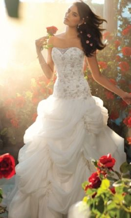 Alfred Angelo Belle's Princess Wedding Dress #225