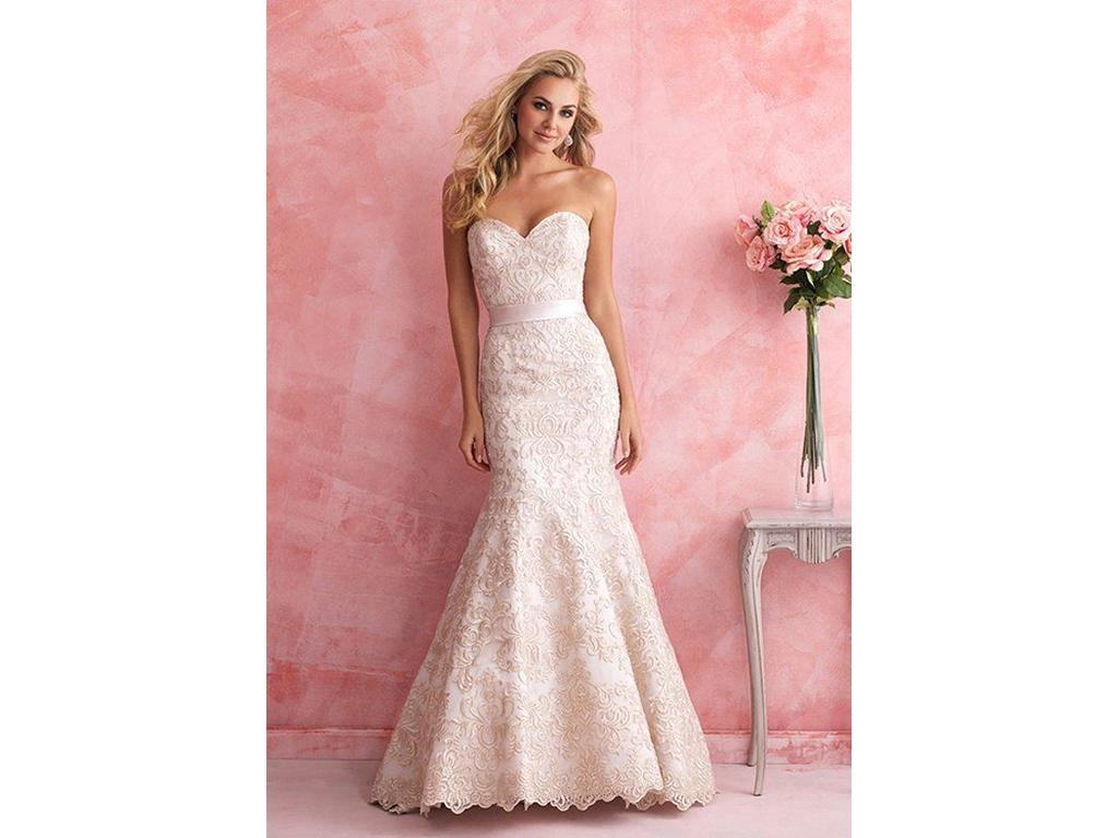 Allure Bridals Romance 2811, $540 Size: 10 | Used Wedding Dresses