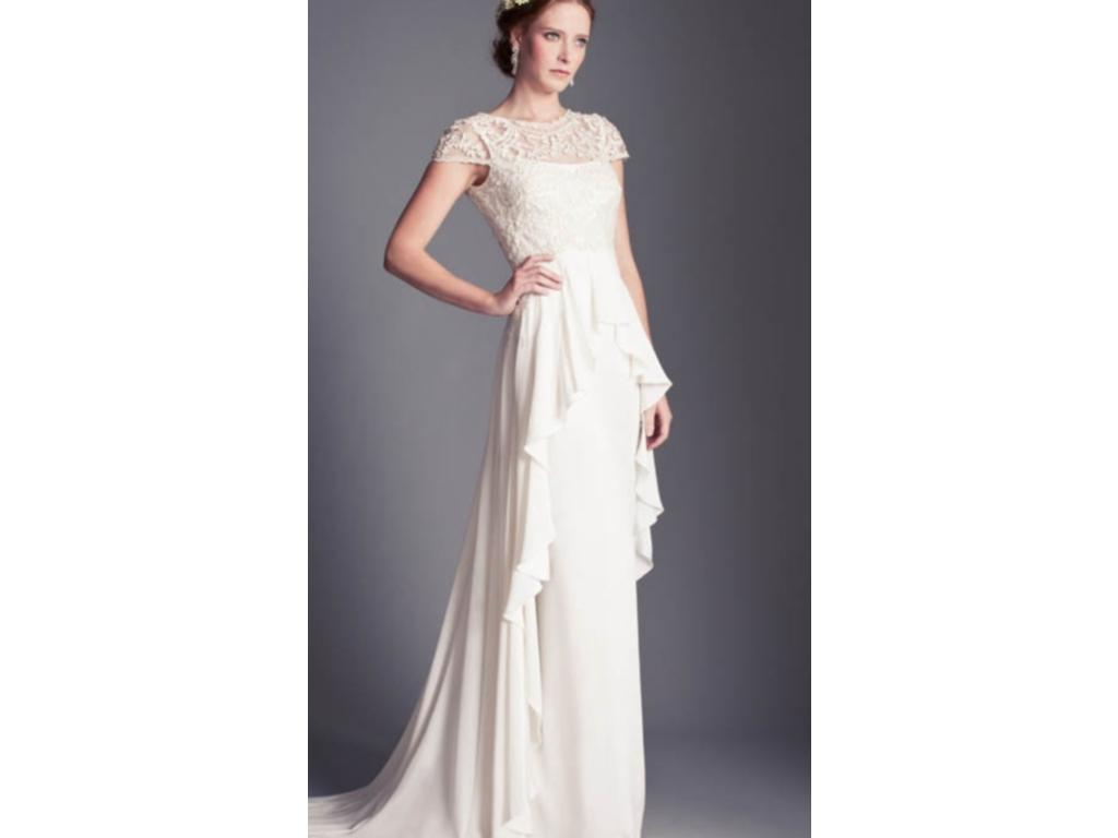 Temperley london bluebell 900 size 2 new un altered for Temperley wedding dress sample sale