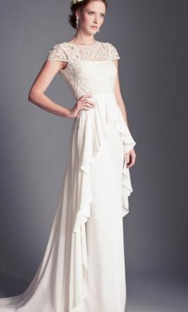 Temperley london bluebell 900 size 2 new un altered for Temperley london wedding dress sale