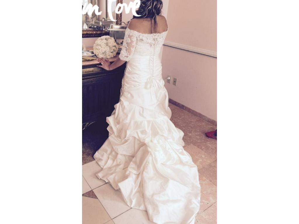 Maggie sottero a3635 500 size 10 used wedding dresses for Maggie sottero wedding dress sale