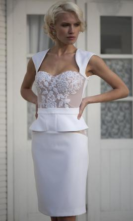 Other APILAT Short Wedding Dress L1, $567 Size: 8 | New (Un ...