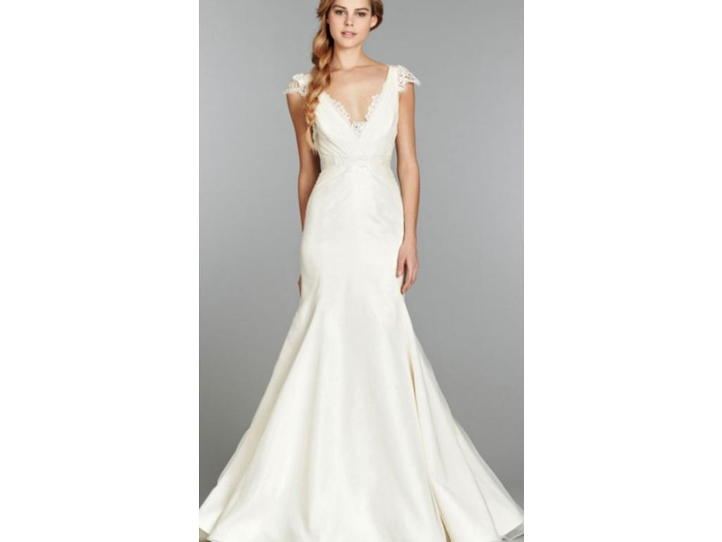 Used hayley paige wedding dresses flower girl dresses for Pre owned wedding dresses