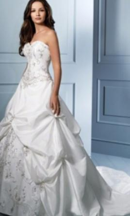 Alfred Angelo 758c Wedding Dress New Size 16w 800
