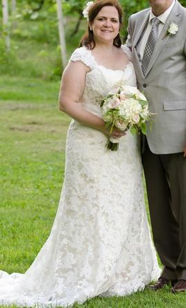 Maggie Sottero Lorie, $500 Size: 18 | Used Wedding Dresses