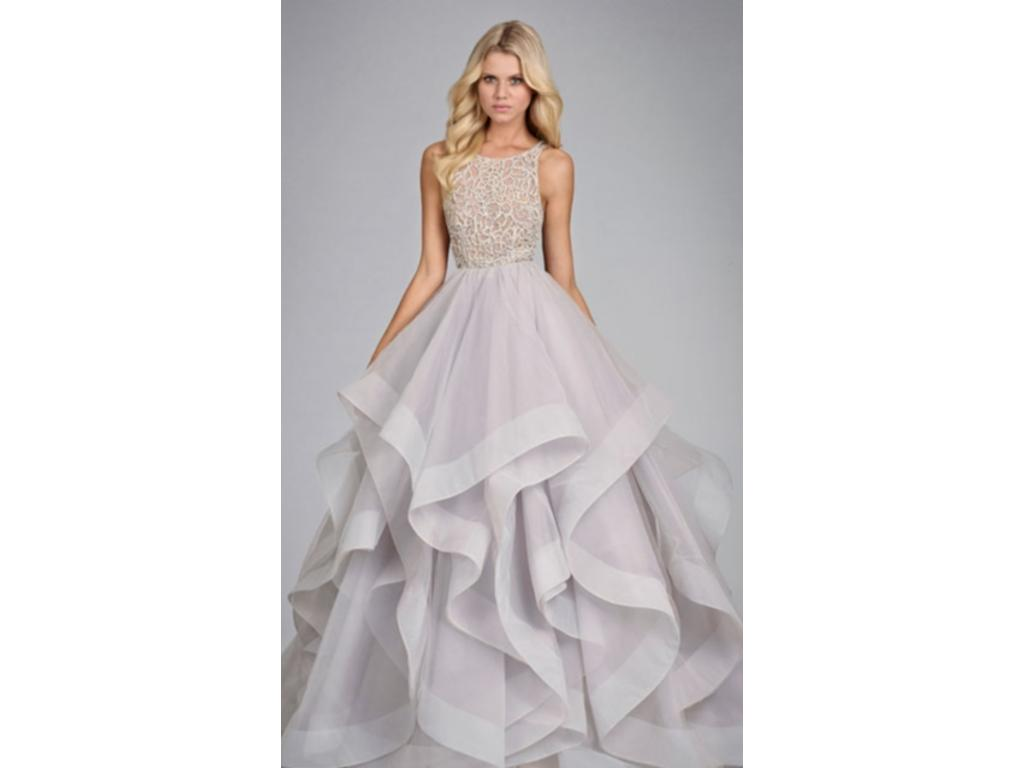 Used Wedding Gowns: Hayley Paige Dori, $2,500 Size: 16