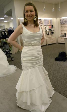 David's Bridal PK3472, $200 Size: 8 | Used