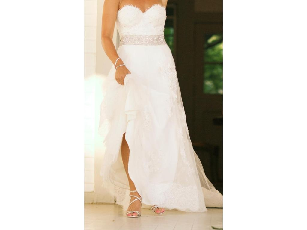 Yolancris skirt from liticia dress custom top 3 500 for Best place to buy used wedding dresses