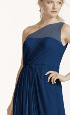 One Shoulder Neckline Dress