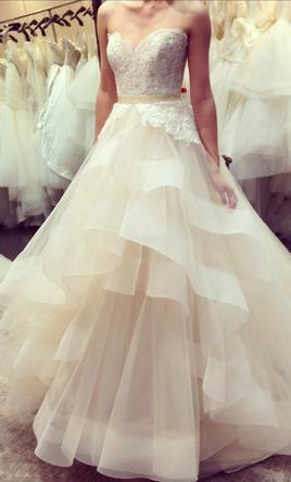 Lazaro 3413 2 500 size 8 used wedding dresses for Where to buy lazaro wedding dresses