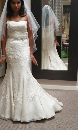 Melissa Sweet MS251003, $810 Size: 8 | New (Un-Altered) Wedding ...