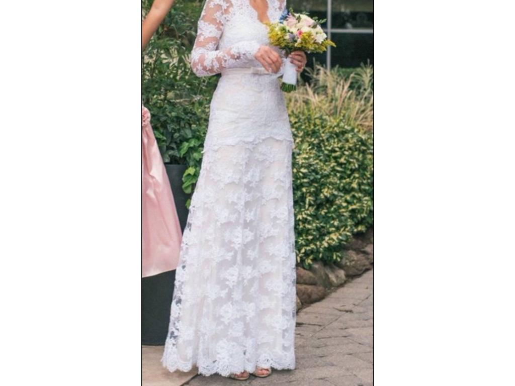 Temperley Wedding Gowns: Temperley London Guinevere, $1,750 Size: 6
