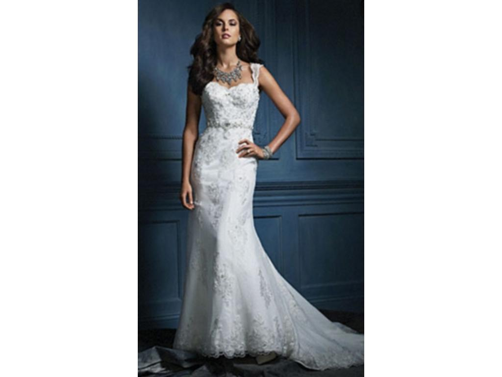 Alfred Angelo Sample Sale 854 300 Size 10 Sample