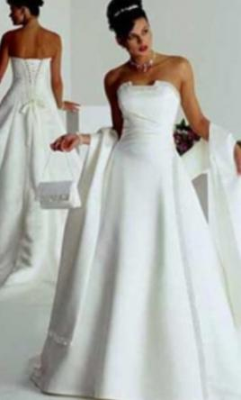 Maggie sottero chantilly 324 size 10 used wedding dresses for Used wedding dresses seattle