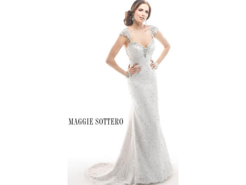 Wedding Dresses For USD 800 : Maggie sottero brandy buy this dress for a fraction of the salon