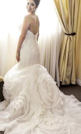Maggie Sottero Paulina 5ms162 650 Size 8 Used