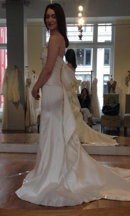 Silk Trumpet Wedding Dresses