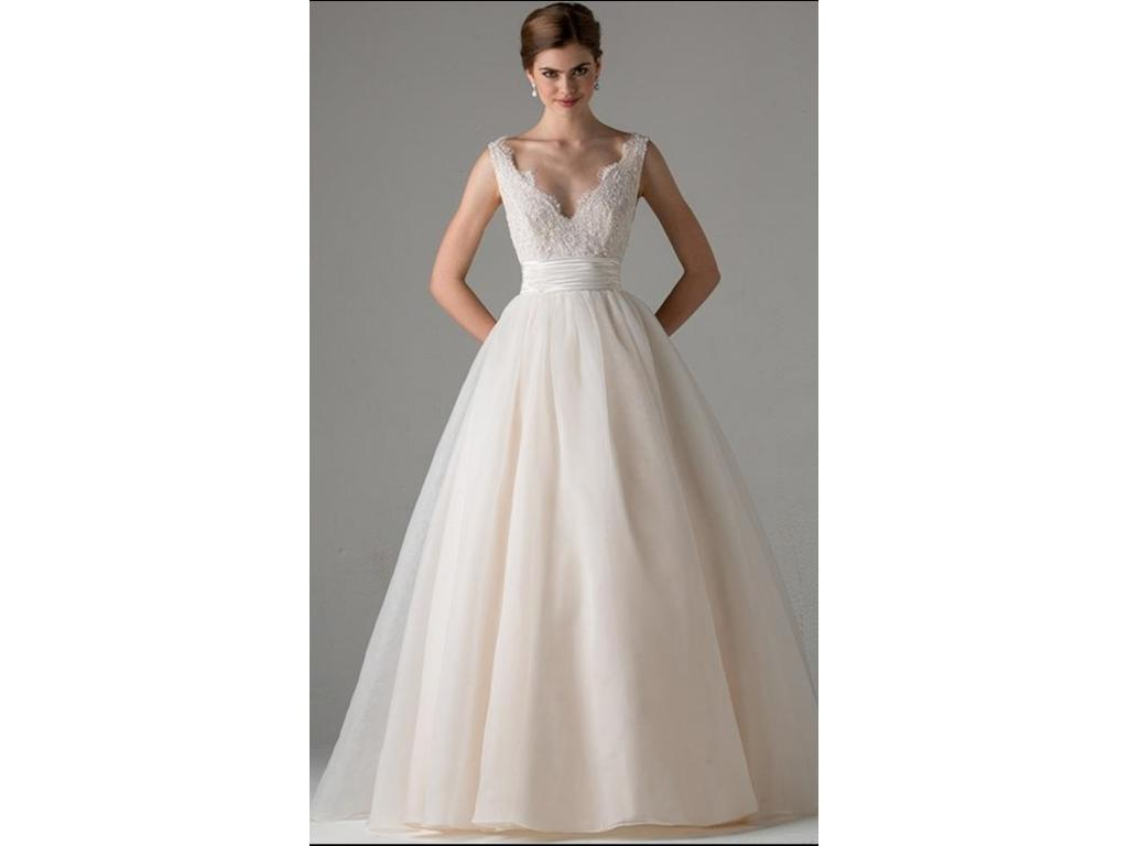 Anne barge leah 2 300 size 2 new un altered wedding for Buy used wedding dresses online