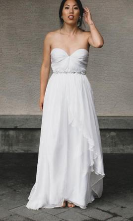 Sarah Seven Practically Perfect 975 Size 4 Used Wedding Dresses