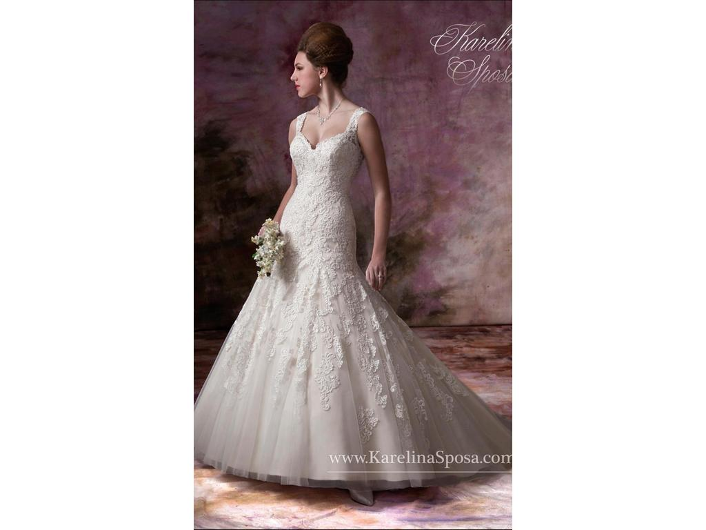Karelina sposa c7989 400 size 8 new altered wedding for Wedding dresses minot nd