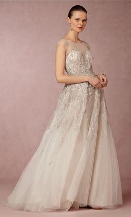 Bhldn Wisteria Gown By Watters Hair Accessories 750 Size 0