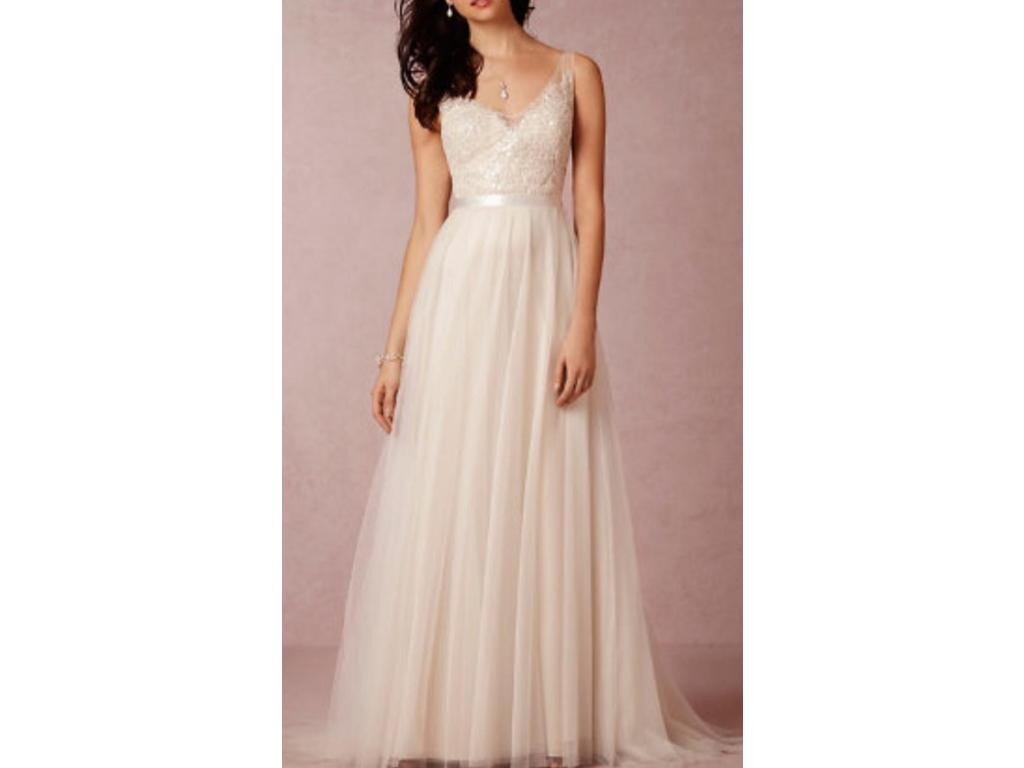 Bhldn persiphone 775 size 10 new un altered for Wedding dresses similar to bhldn