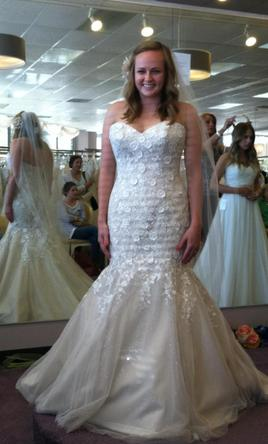 Kitty Chen Lavender V1368, $775 Size: 10 | New (Un-Altered) Wedding ...