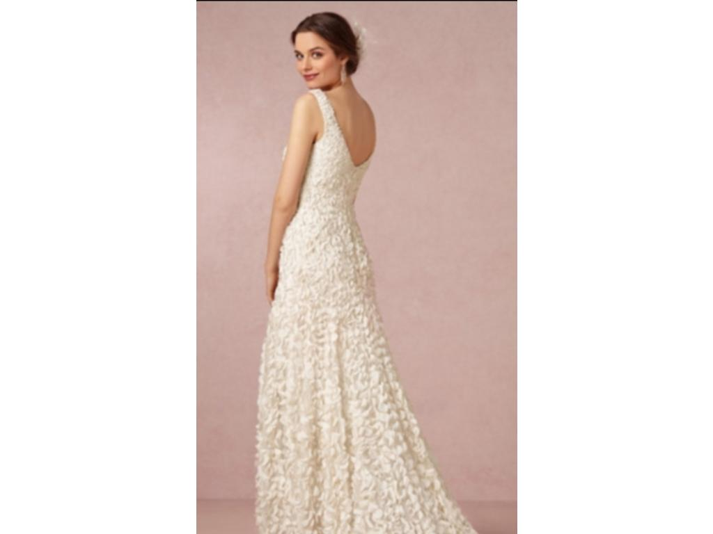 Bhldn emma gown 500 size 0 used wedding dresses for Bhldn used wedding dresses
