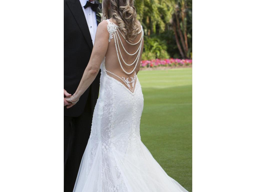Galia lahav jasmine 5 000 size 6 used wedding dresses for Pre owned wedding dresses