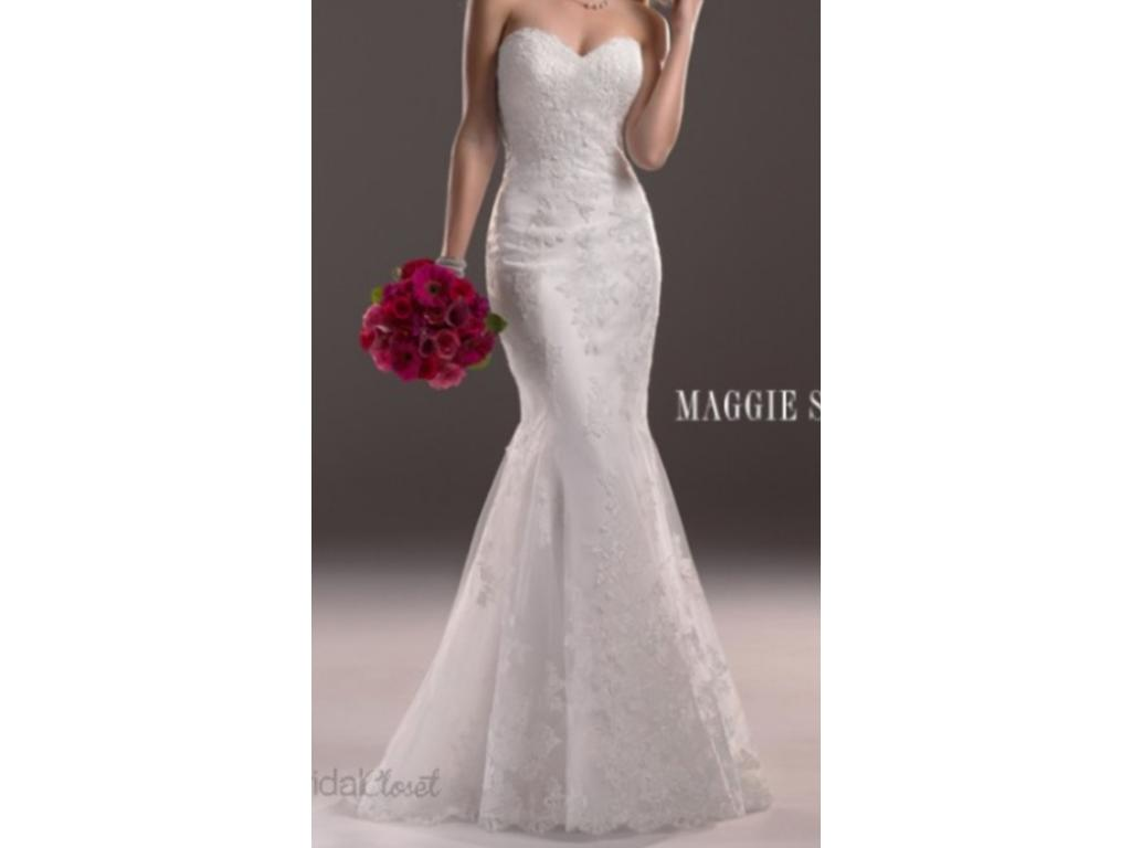 Maggie sottero 500 size 10 new altered wedding dresses for Wedding dresses for 500 or less