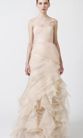 Vera wang farrah 2 500 size 8 used wedding dresses for Used vera wang wedding dresses
