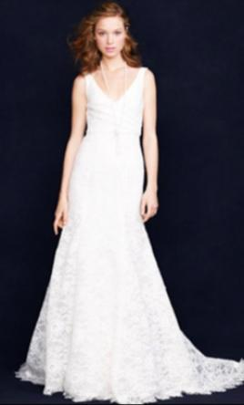 J. Crew Sara Lace Gown 00