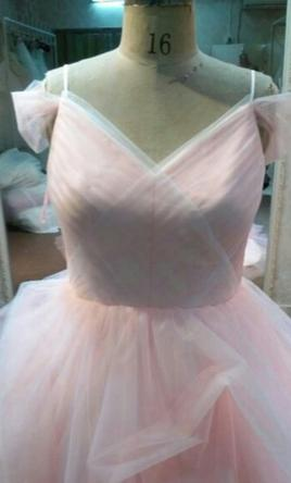 Other Pastel Colored Wedding Gown by Darius Cordell 16