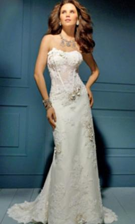 Alfred Angelo Sapphire Collection 850 10