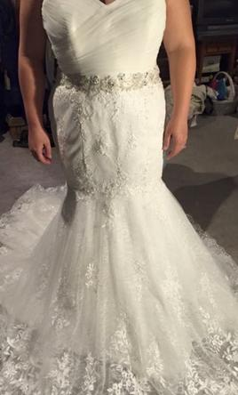 Alfred Angelo Sapphire  16
