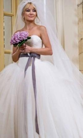 Vera wang bride wars 3 850 size 2 used wedding dresses for Used vera wang wedding dresses