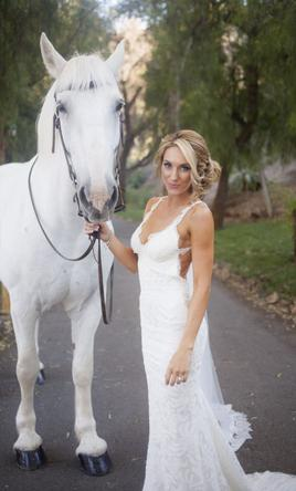 Wedding Dress Spotlight Katie May S Backless Barcelona Gown Source Pin It Add To Princeville
