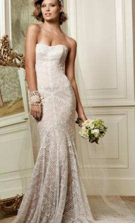 Watters WTOO Pippin Gown Style 13111 Wedding Dress  8