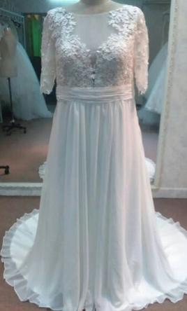 1decc7301e4 Pin it · Other Plus Size Wedding Dresses with Sleeves 26