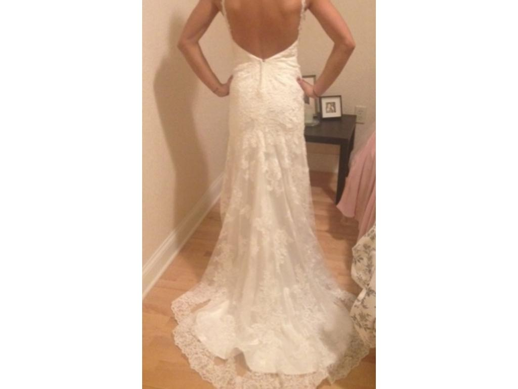 Stella york 5984 800 size 2 new altered wedding dresses for Pre used wedding dresses