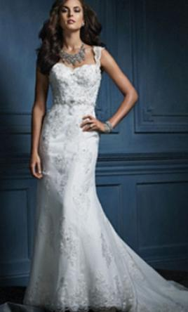 Alfred Angelo Sapphire Collection 854 8