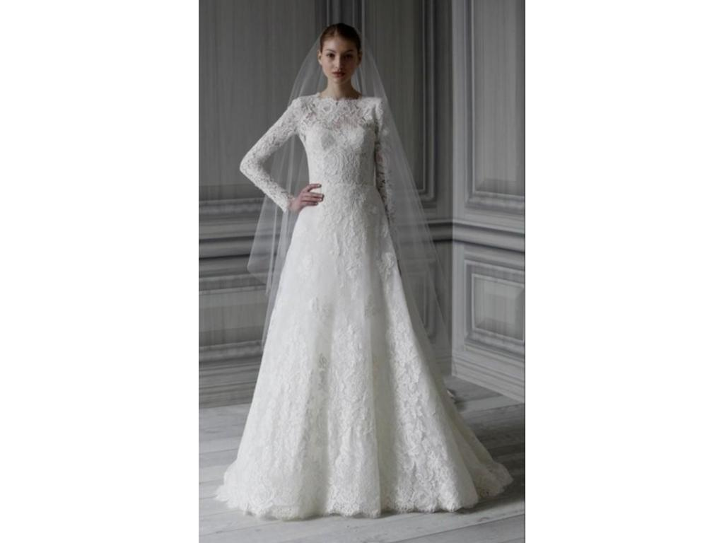 Used Wedding Gowns: Monique Lhuillier Catherine, $5,900 Size: 0