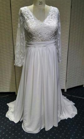 Other Plus Size Wedding Dress With Long Sleeves 20