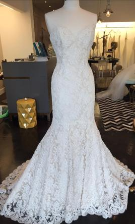 Ines di santo manye 3 500 size 10 sample wedding dresses for Ines di santo wedding dresses prices