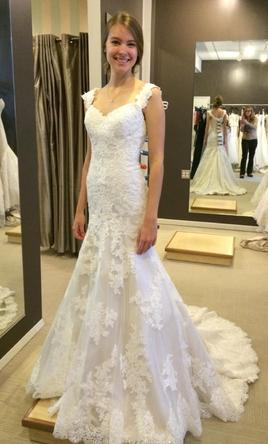Essense Of Australia Ivory Lace Over Oyster Dolce Satin