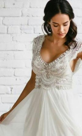 Anna Campbell Coco 2500 Size 4 New UnAltered Wedding Dresses